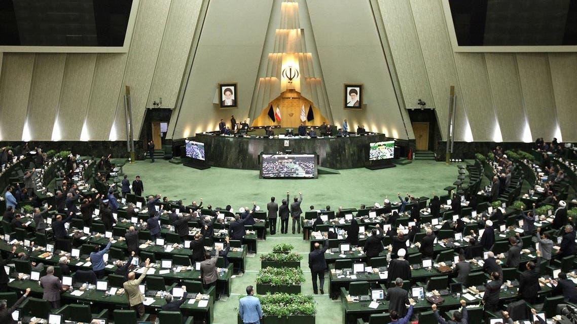 من الانتخابات البرلمانية الإيرانية (فرانس برس)