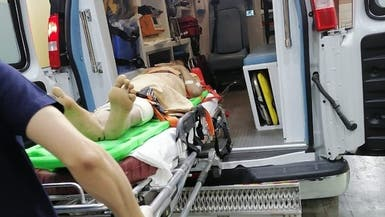بالصور.. وصول جرحى الجوف اليمنية إلى مستشفيات السعودية