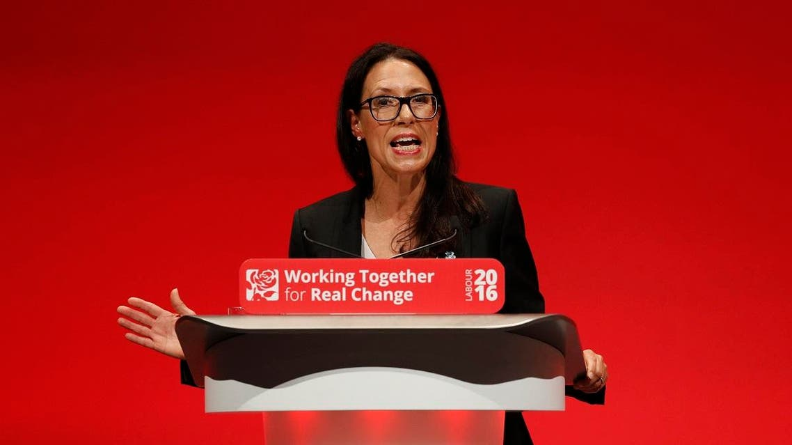 Debbie Abrahams, speaks during the second day of the Labour Party conference in Liverpool, Britain. (File photo: Reuters)