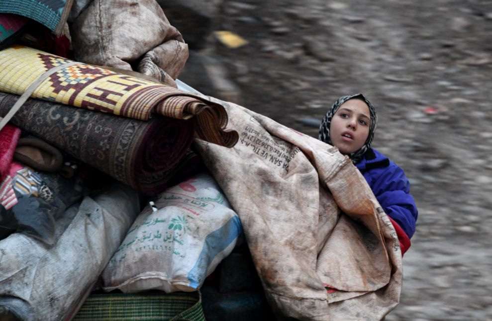 آوارگان از حلب (France Press)
