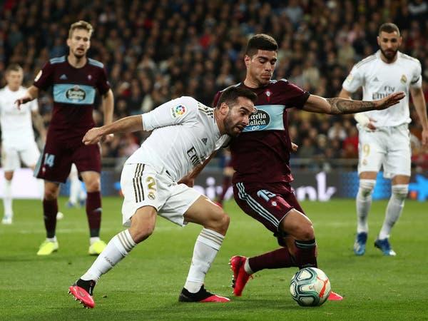 سلتا فيغو يخدم برشلونة بتعادله مع ريال مدريد