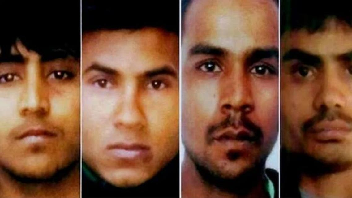 The four men found guilty of the Nirbhaya case. (Taken from Twitter, file photo)