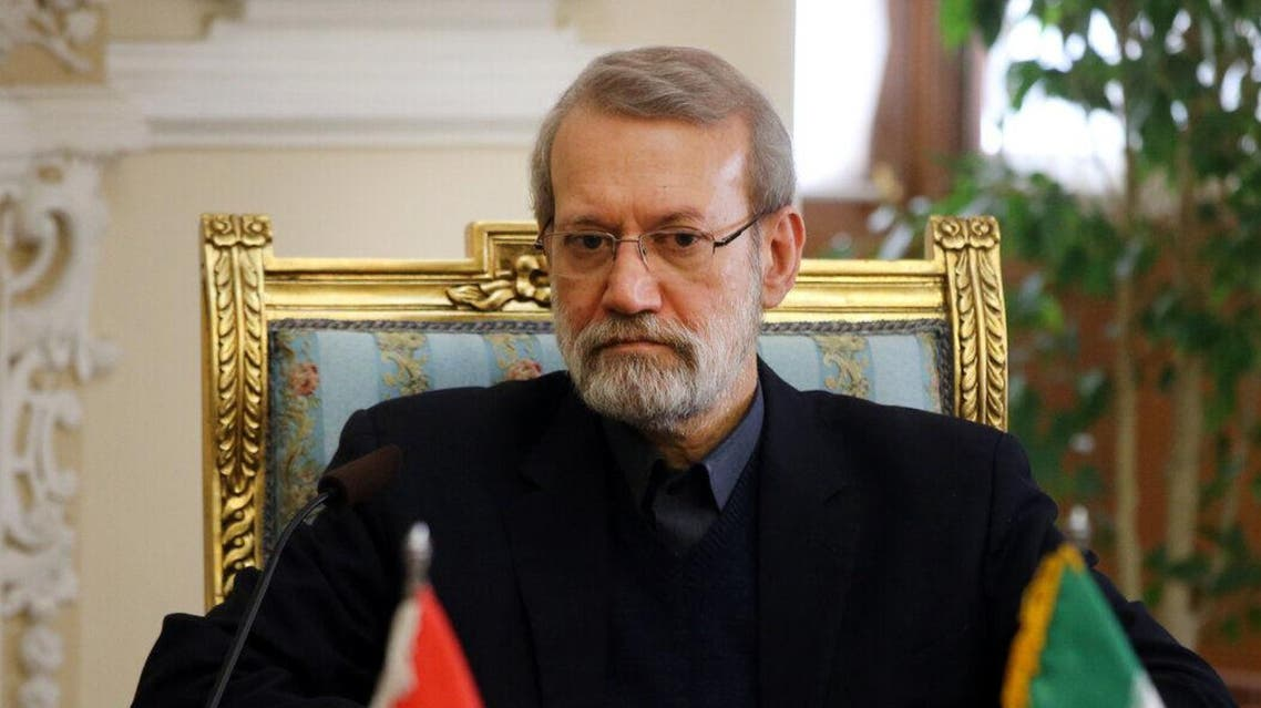 Iran speaker Ali Larijani, 17-2-20 (IRNA)
