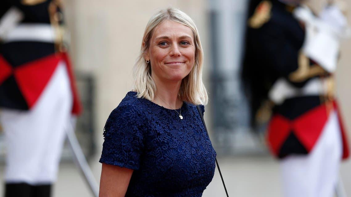 Denmark Defense Minister Trine Bramsen - AP