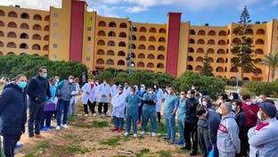 فيديو لإخلاء المصريين العائدين من الصين.. انتهى الحجر الصحي