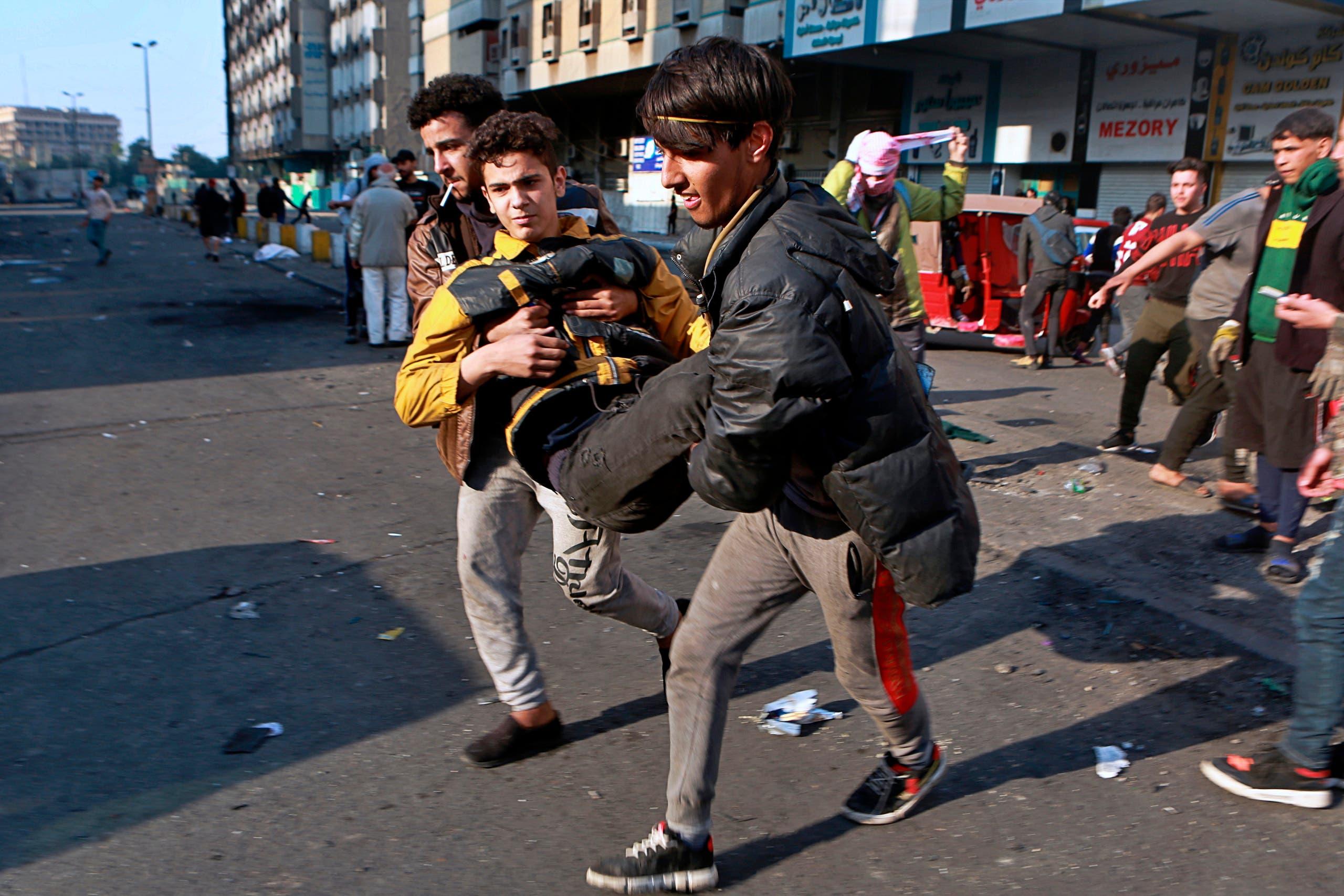 بغداد 17 فبراير - اسوشيتد برس