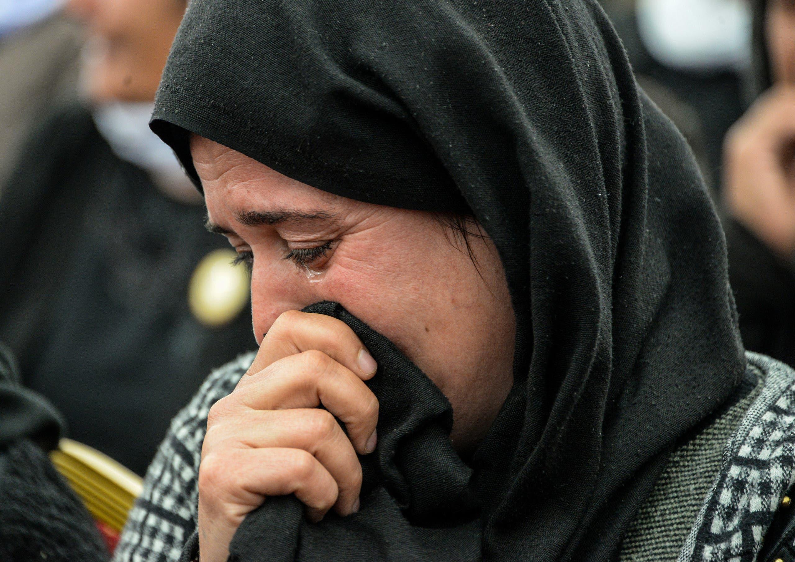 أيزيدية في سنجار يوم 15 مارس 2019 (أرشيفية)