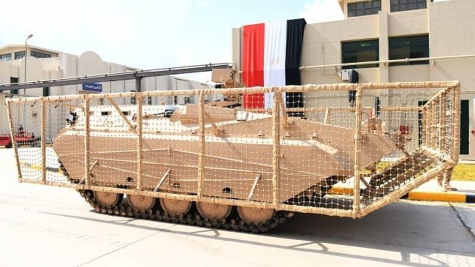 """سينا 200"""".. أول مدرعة عسكرية تُصنع بالكامل في مصر"""