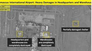 تصویری… انهدام مقرها و زاغههای سلاح سپاه پاسداران ایران در دمشق