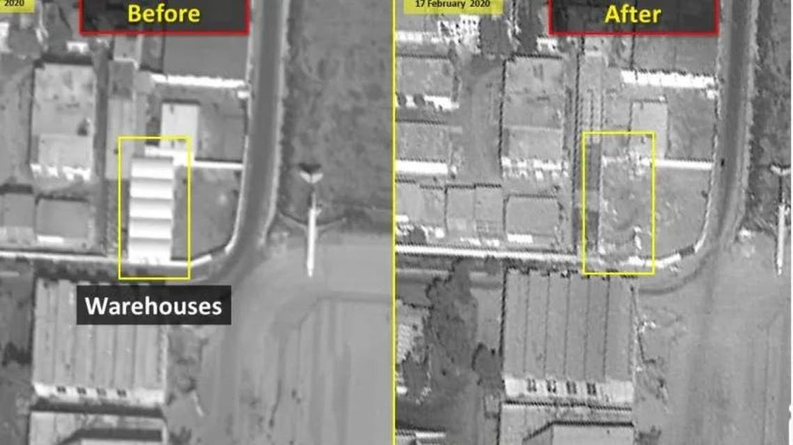 Syria: Islamic Revolutionary Guard Corps weapons depot images