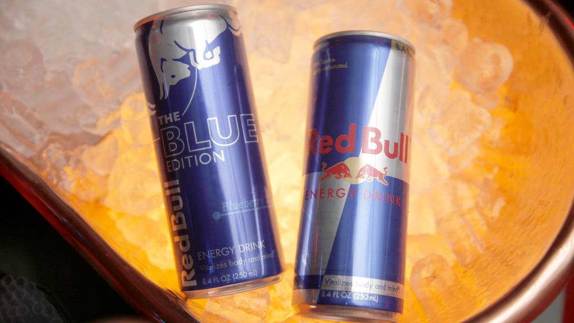 Red Bull cans. (File photo: AP)