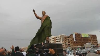من جنوب لبنان إلى الأهواز..  شاهد نصباً آخر لسليماني