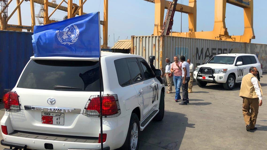 فرق بعثة الأمم المتحدة لدعم اتفاق الحديدة تقوم بدورية مراقبة