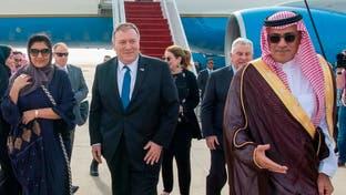 ابراز خرسندی پمپئو از حضورش در ریاض برای بررسی پایبندی آمریکا به امنیت سعودی