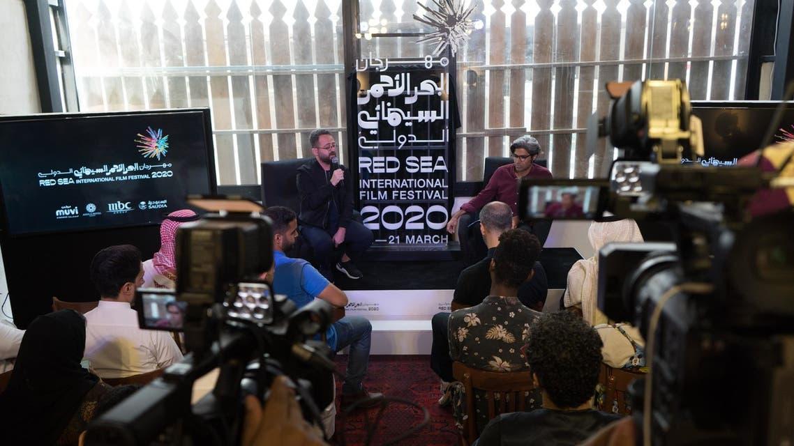Press conference pic