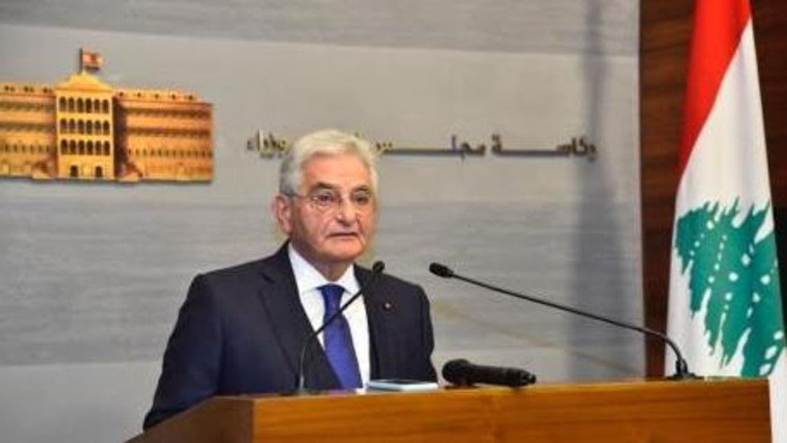 Salim Sfeir, chairman of the Association of Banks in Lebanon and chief executive of Bank of Beirut, on February 19, 2020. (Supplied)