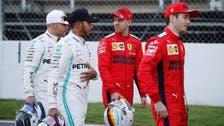 Hamilton top in testing as Vettel calls off sick