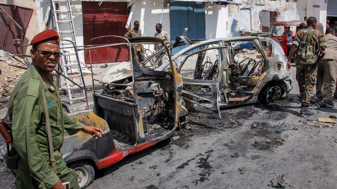 Security forces in Somalia in Mogadishu (AP)