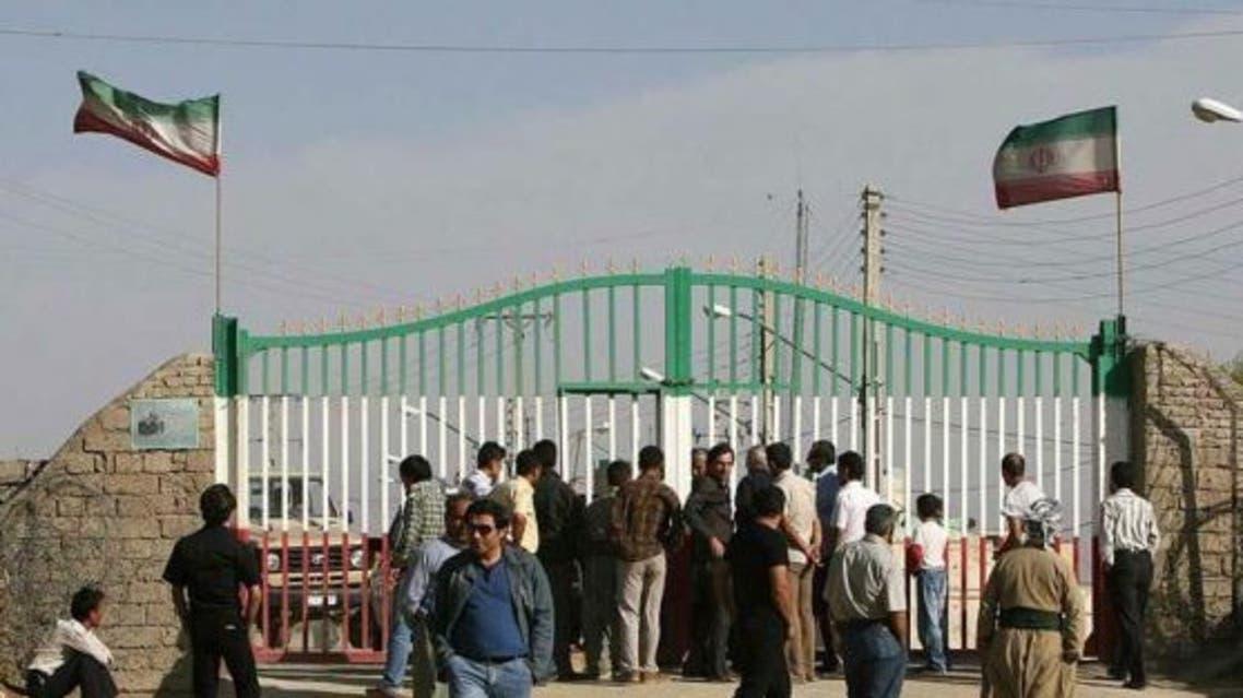 معبر حدودي بين إيران والعراق