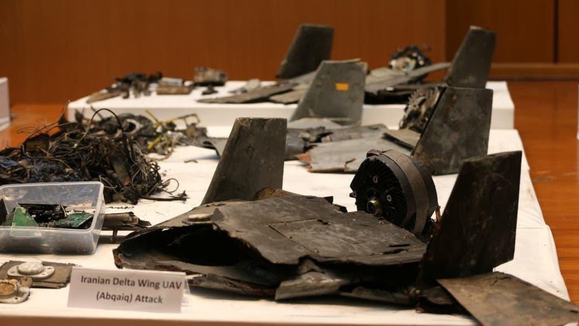 أدلة على تورط إيران بهجوم أرامكو عرضتها وزارة الدفاع السعودية