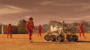 السكن على سطح المريخ