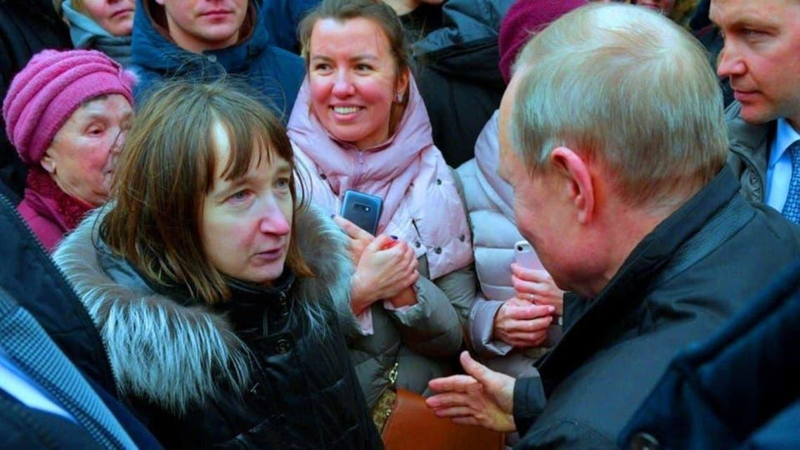 Russia: Female Journalist asked a question how can someone lived with 170$ to Puten