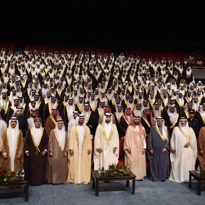 """""""خليفة الإنسانية"""" تنظم زفافا لـ1200 عريس وعروسة بالبحرين"""