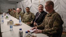 Pompeo visits US troops in Saudi Arabia during trip focused on countering Iran