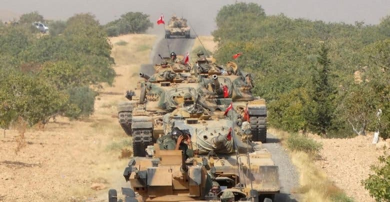 رتل قوات تركية