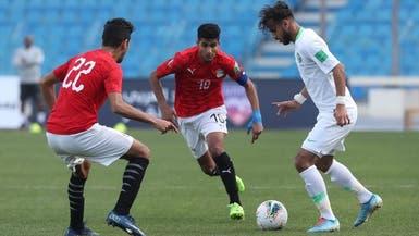السعودية تتعادل مع مصر في كأس العرب للشباب