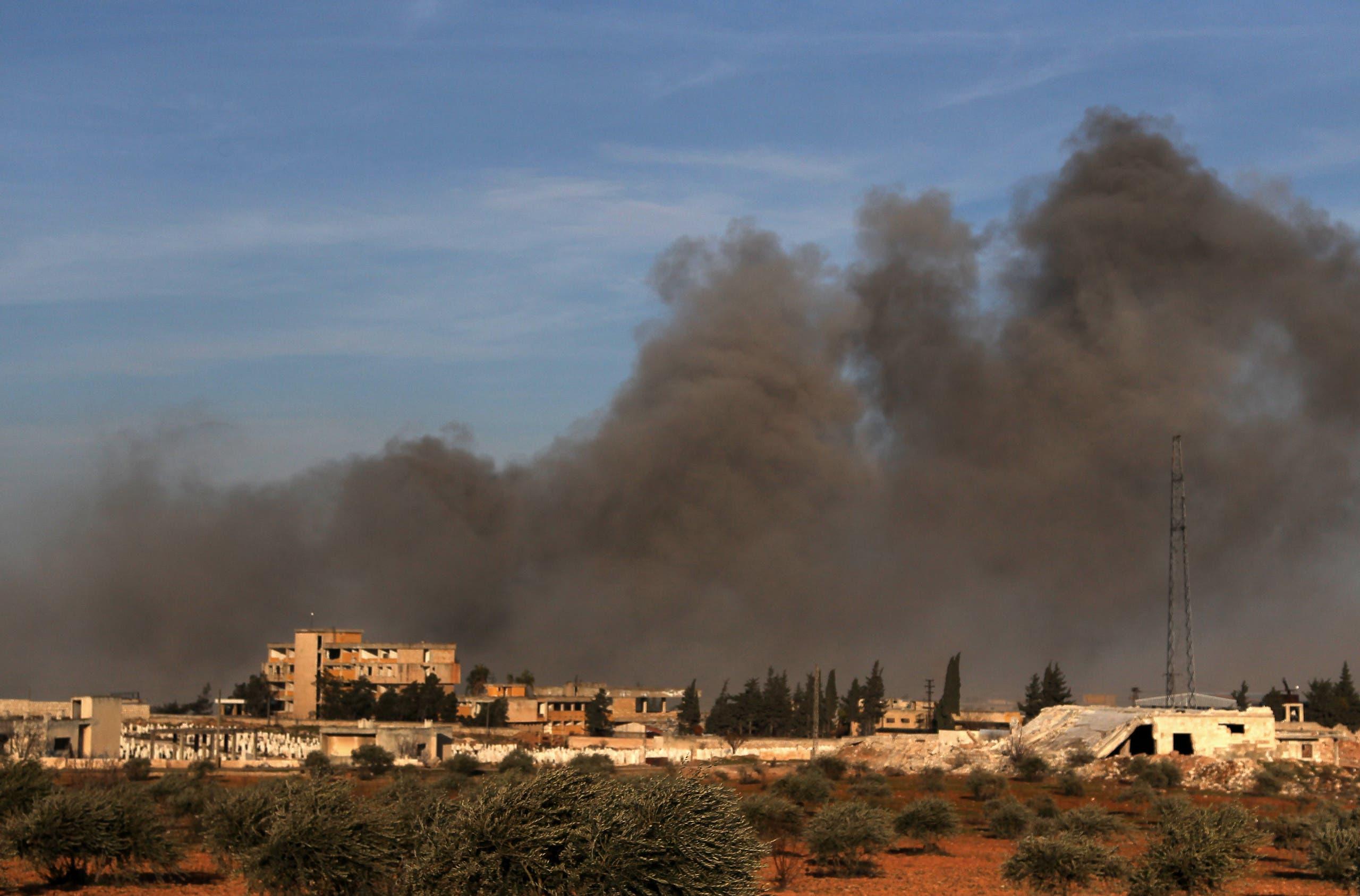 من شمال إدلب يوم 20 فبراير