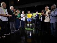 البرازيل تكشف النقاب عن تمثال بيليه إحياء لذكرى المونديال الثالث