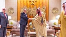 Saudi Arabia's Crown Prince meets with Pompeo in Riyadh