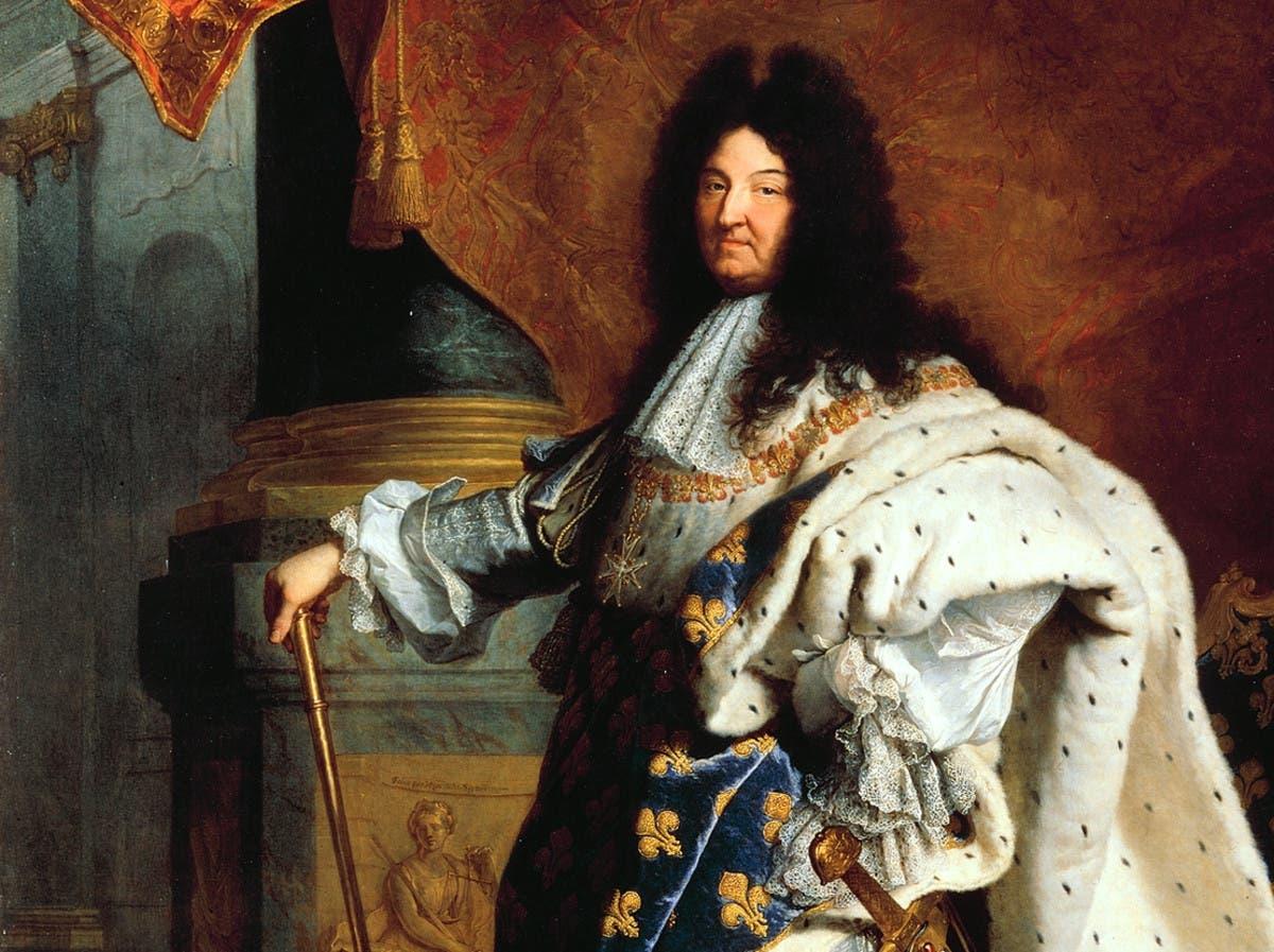 صورة للملك الفرنسي لويس الرابع عشر