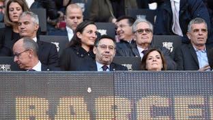 """رئيس برشلونة يتهم """"تقنية الفيديو"""" بالانحياز إلى ريال مدريد"""