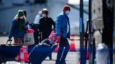 Around 100 more passengers disembark coronavirus-stricken Japan cruise ship