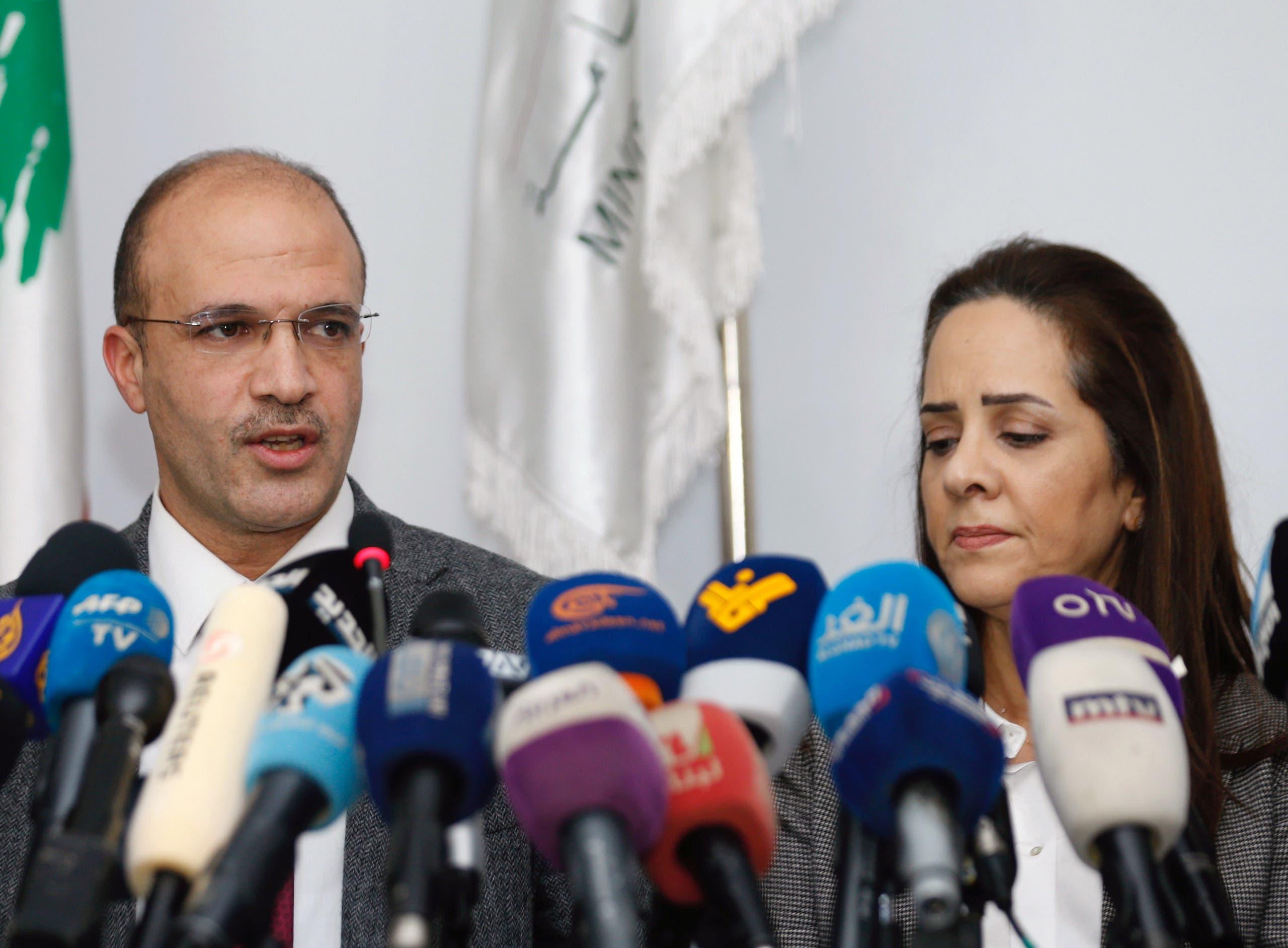 وزير الصحة اللبناني حمد حسن (21 فيراير - رويترز)
