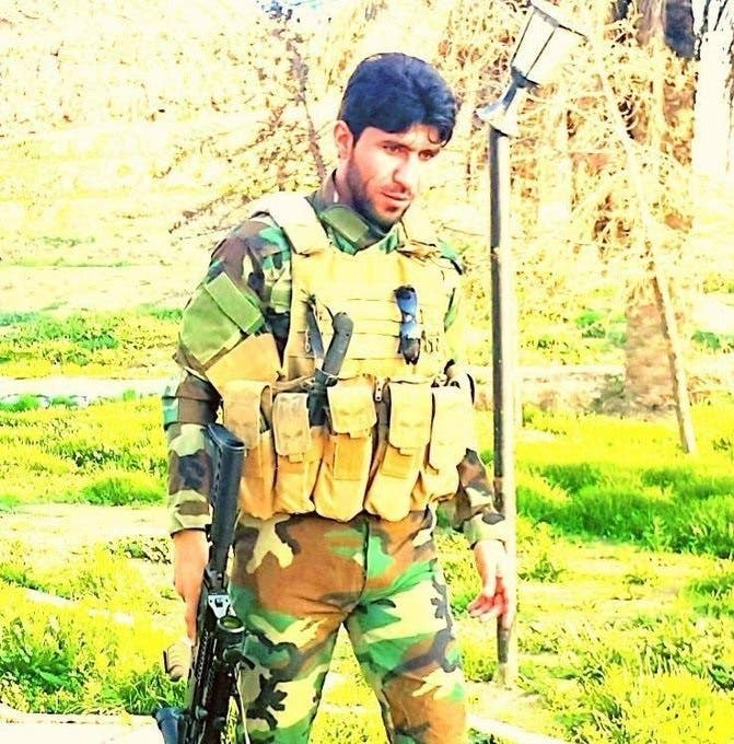 Abu Fadak 'the uncle' al-Mohammadawi, the leader of the PMU umbrella group of militias, as a young man. (Supplied)