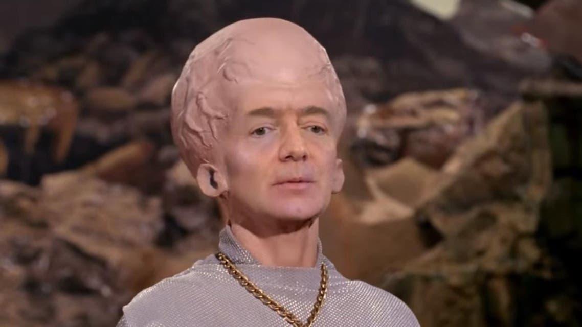 Bezos Musk Star Trek deepfake (Screengrab combo)