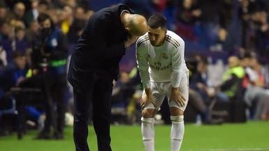 """هازارد أمام """"فرصة ثانية"""" مع ريال مدريد"""