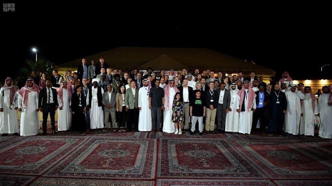 shaybah oilfield visit credit SPA