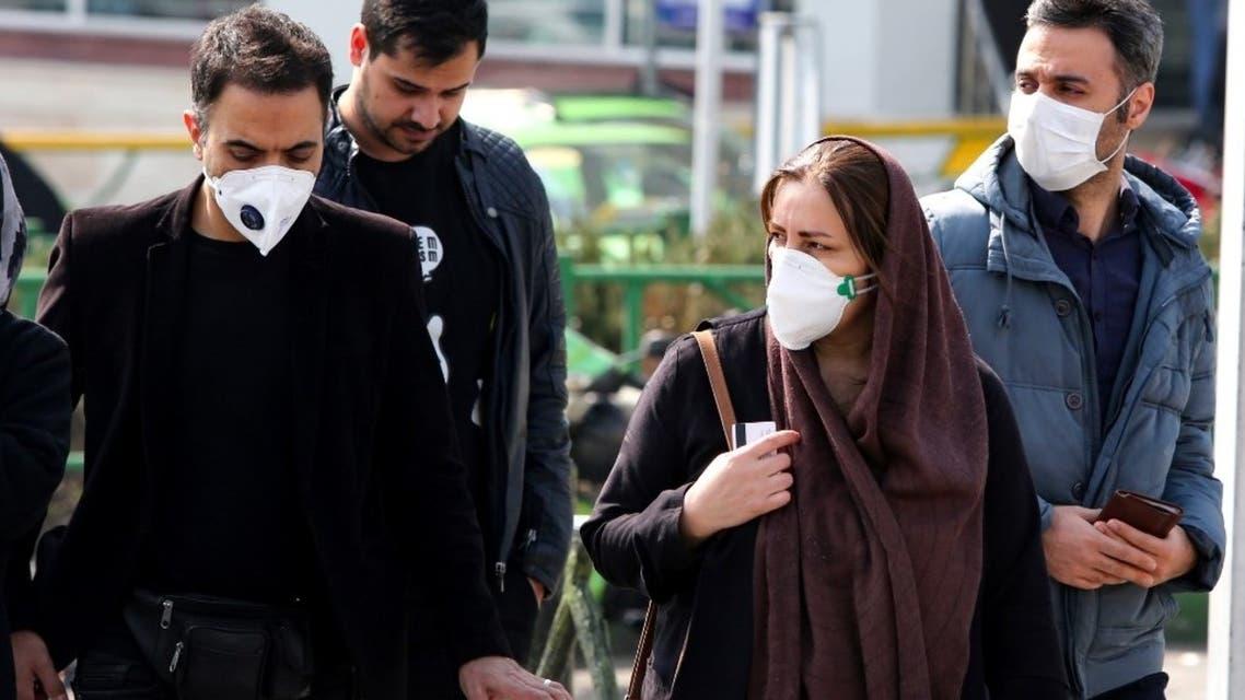 طهران - كورونا - فرانس برس