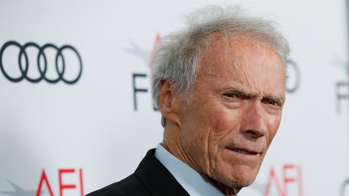 """Director Eastwood poses at the premiere for the movie """"Richard Jewell"""" in Los Angeles. (Reuters)"""