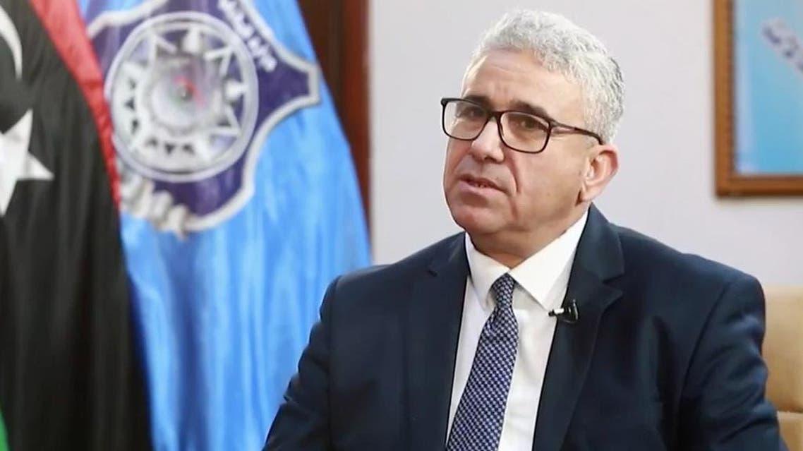 وزير الداخلية في حكومة الوفاق الليبية ، فتحي باشاغا،