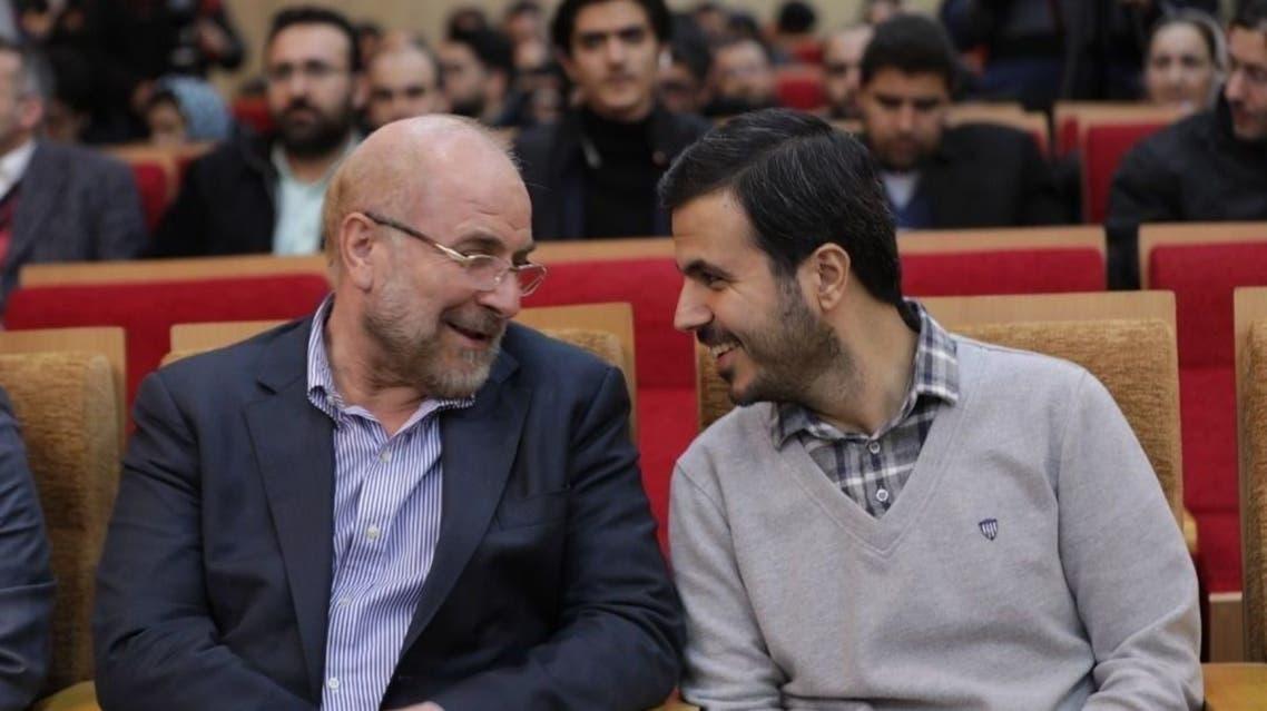 سيد محسن دهنوي مع قاليباف