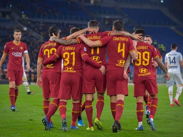 روما يعود للانتصارات برباعية ليتشي