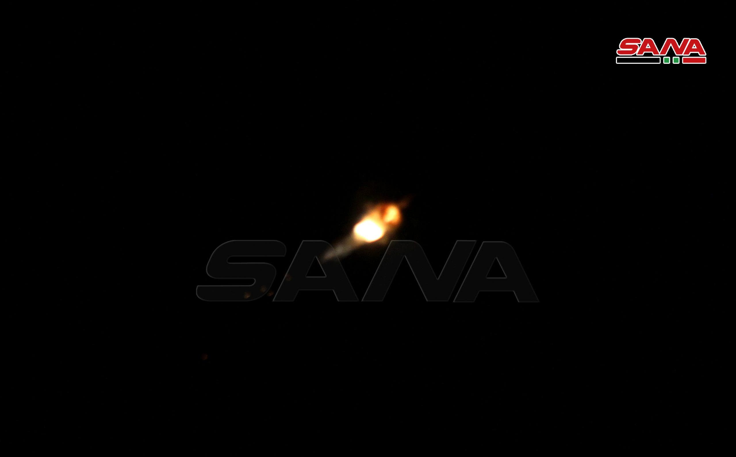 SANA - Israeli airstrike on Damascus