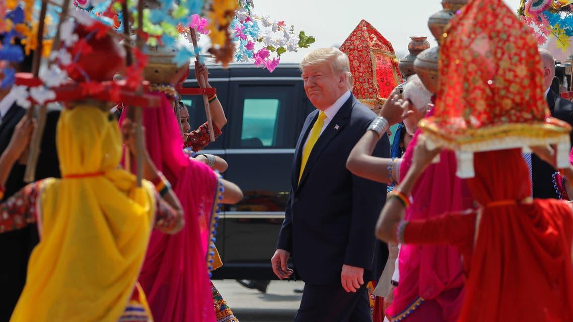 زيارة دونالد ترمب إلى الهند