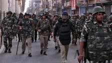 Violent sectarian riots in India's capital leave 13 people dead