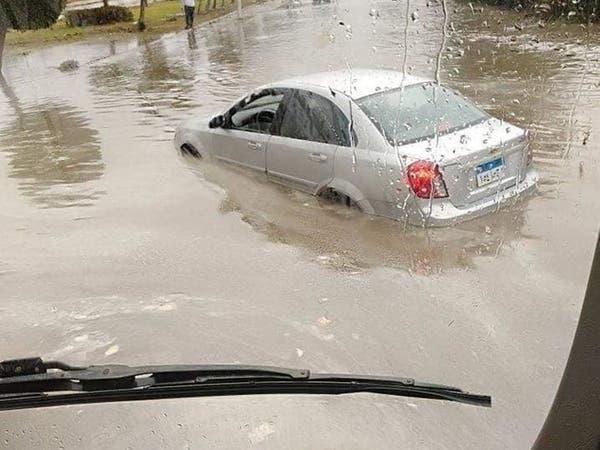 شوارع غارقة وتعطيل الدراسة.. موجة طقس سيء تجتاح مصر